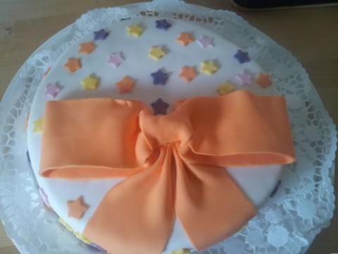 Geburtstagstorte - Schleifentorte