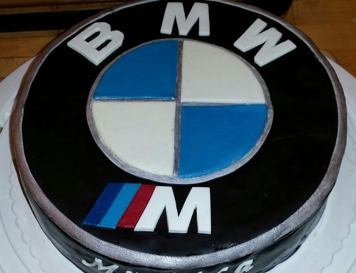 bmw logo torte. Black Bedroom Furniture Sets. Home Design Ideas
