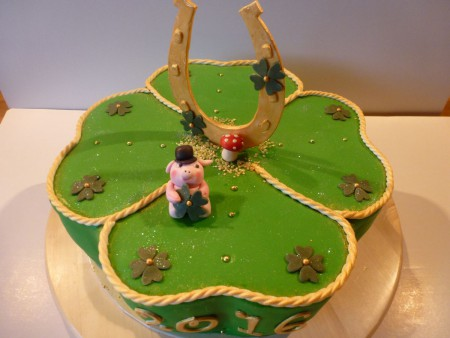 Kleeblatt-Torte