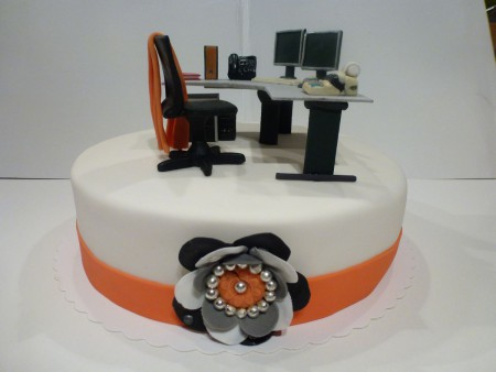 Büro-Torte